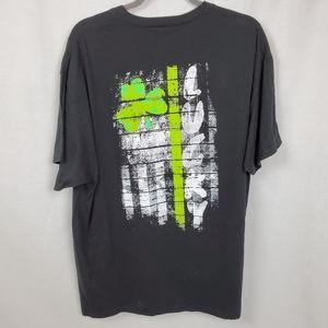 Hanes sz XL Lucky Clover graphic tshirt